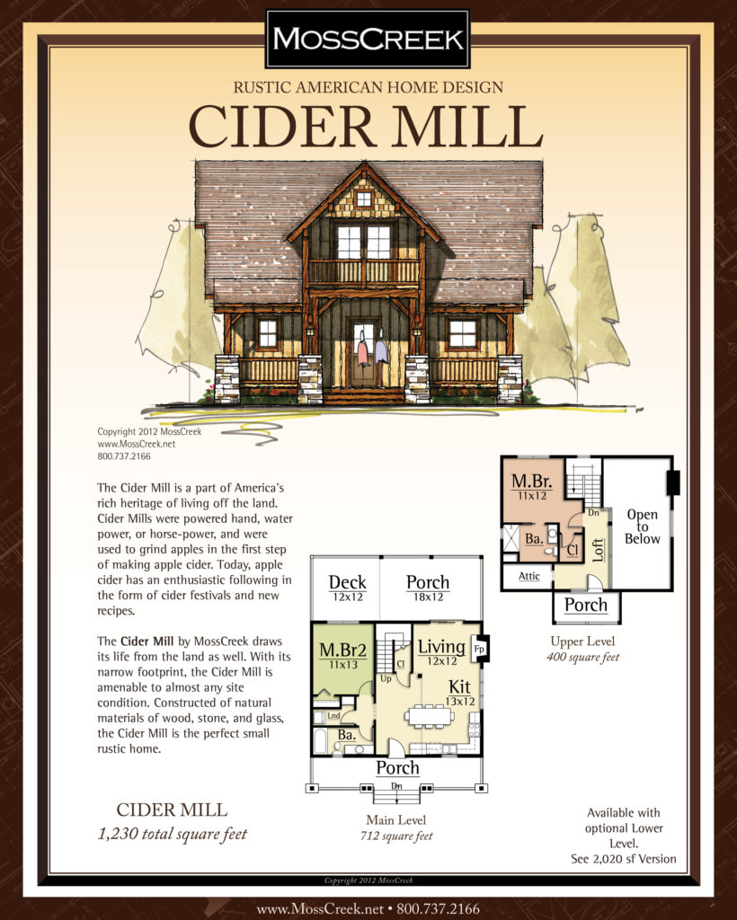 MossCreek Cider Mill floor plan