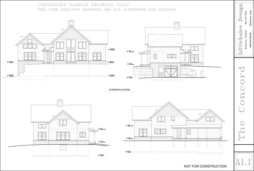 Littlehales The Concord floor plan