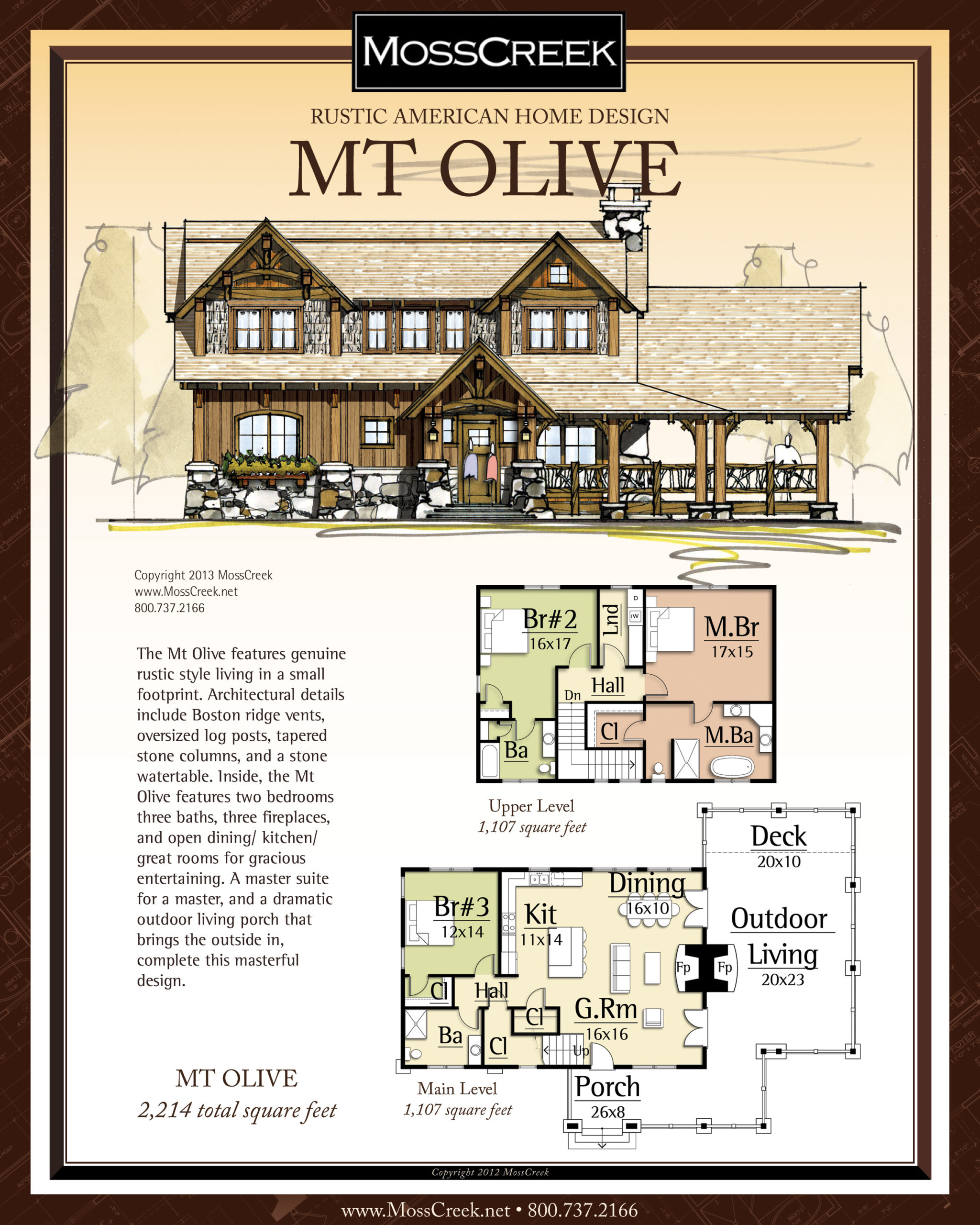 MossCreek Mt Olive floor plan