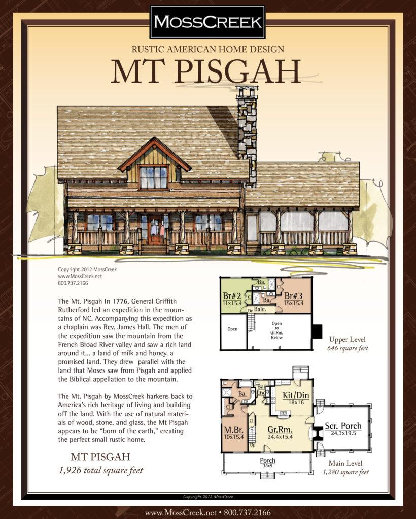 MossCreek Mt Pisgah floor plan