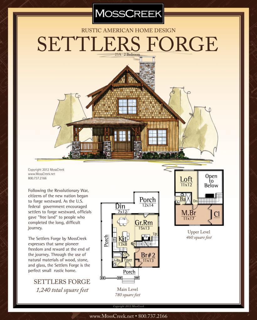MossCreek Settlers Forge floor plan
