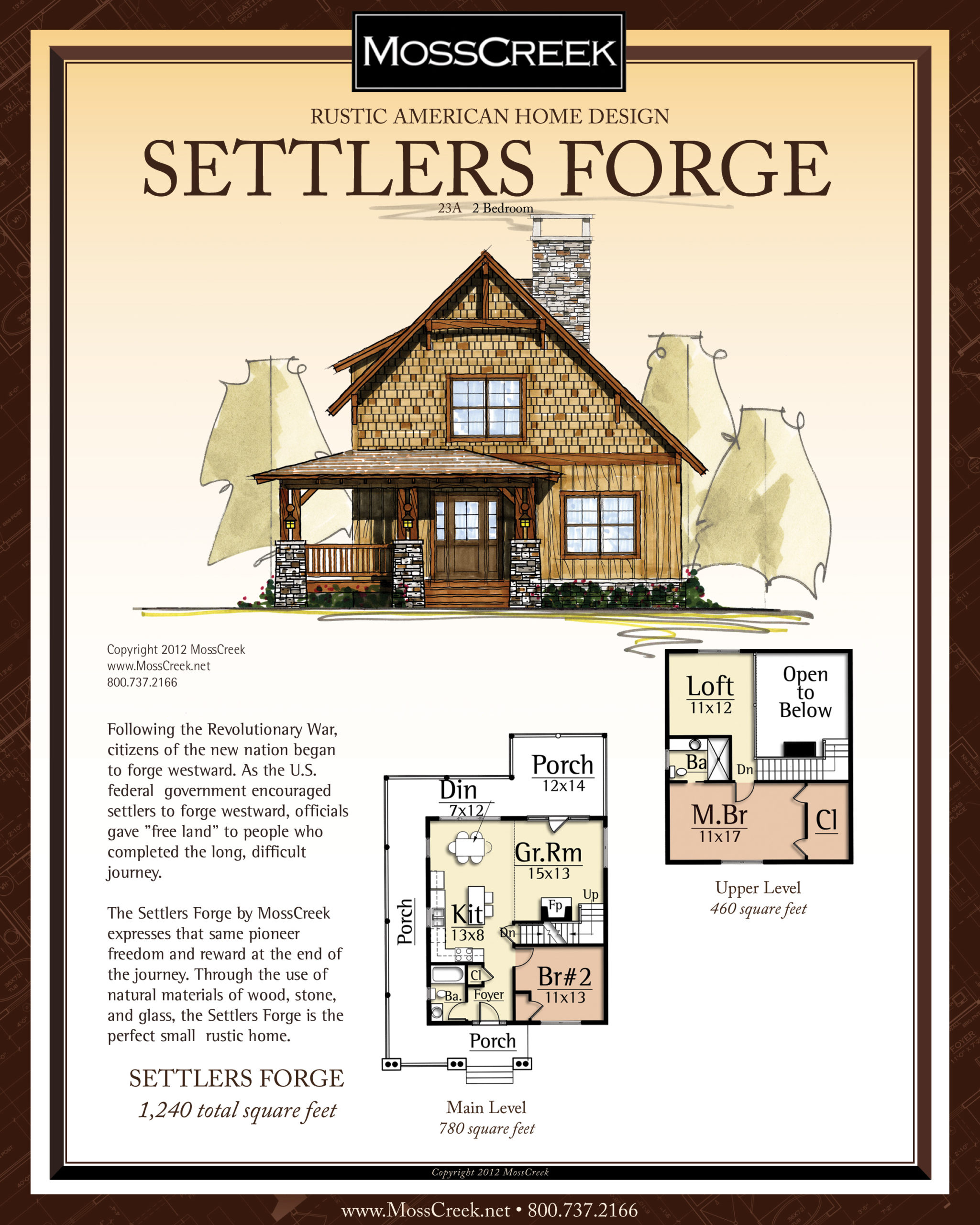 MossCreek Settlers Forge floor plan