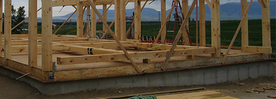 timber frame deck structure