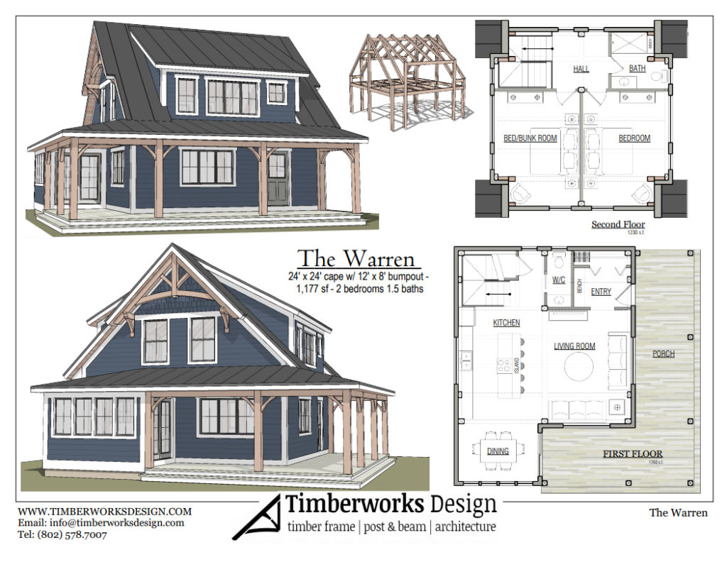 The Warren Timberworks floor plan