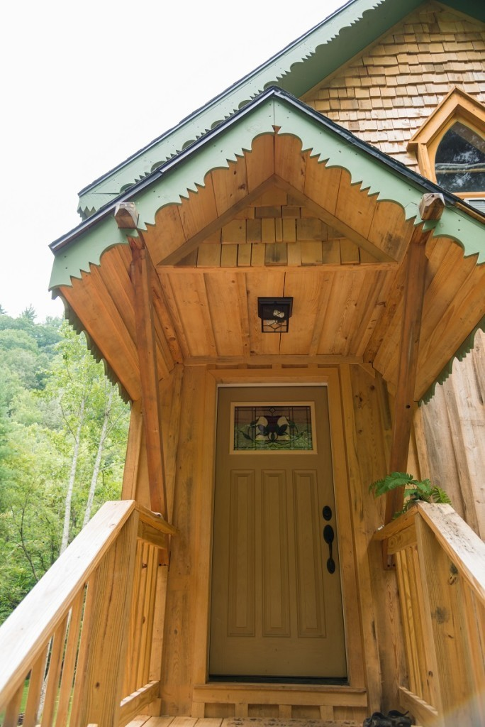 Timber Frame entryway