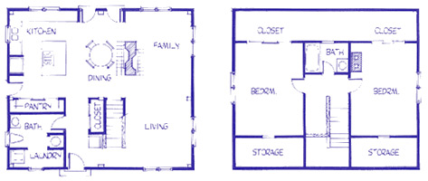 Chelsea Cape floor plan