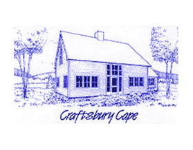 Craftsbury Cape line drawing