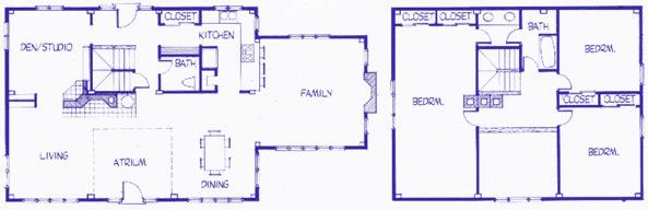 Craftsbury Cape floor plan