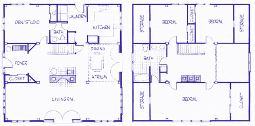 Cape Howe floor plan