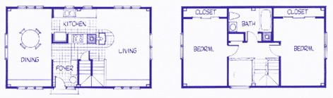 Cape Pierce floor plan