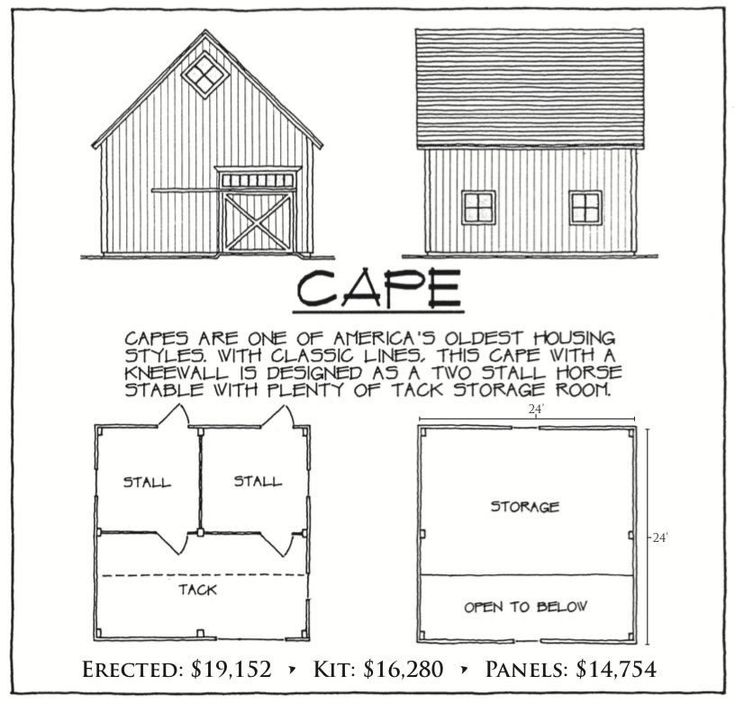 Cape floor plan