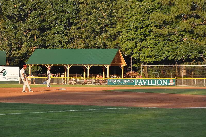 Vermont Lake Monster Timber Frame Pavilion