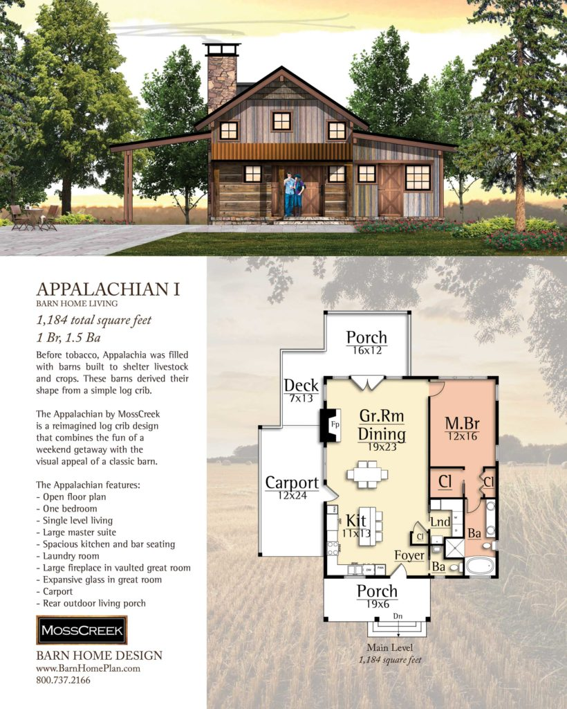 Mosscreek Appalachian I Floorplan