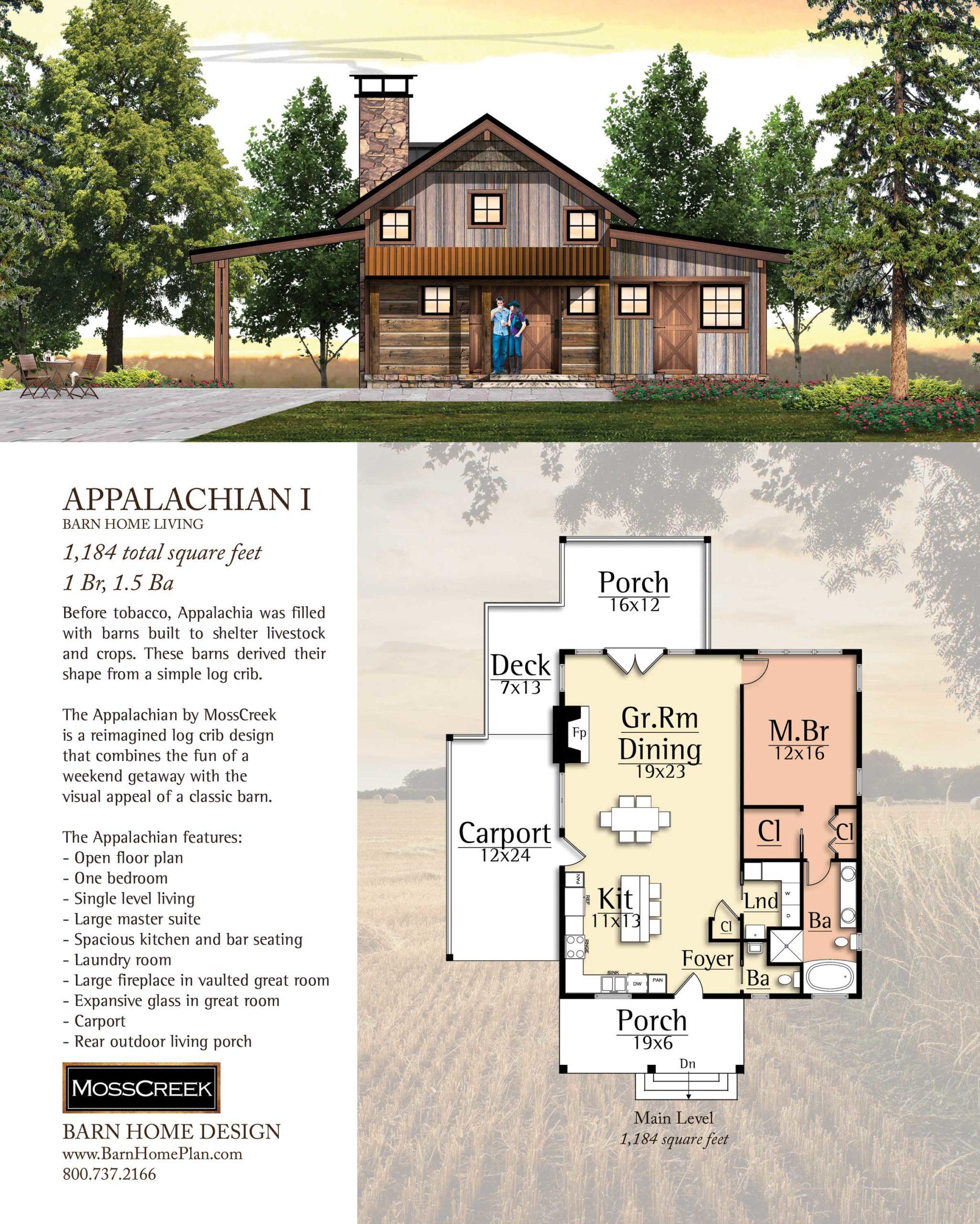 Mosscreek Appalachian I Floorplan