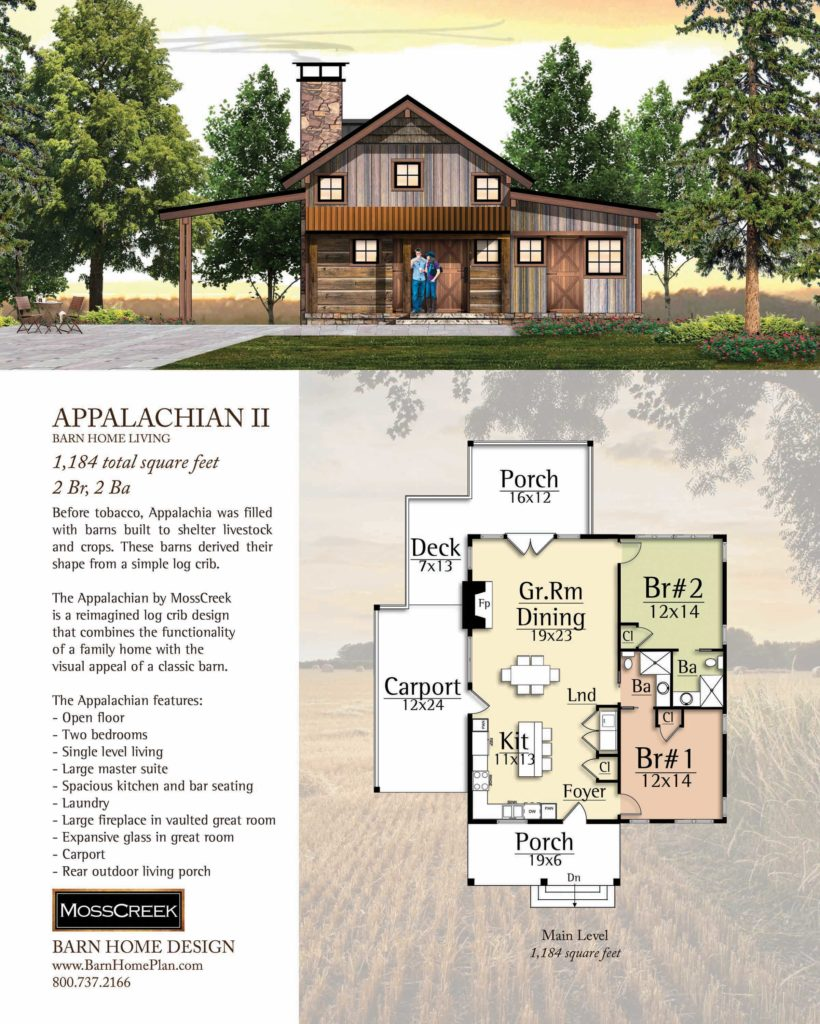 Mosscreek Appalachian II Floorplan