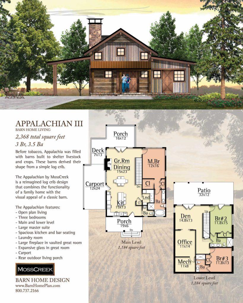 Mosscreek Appalachian III Floorplan