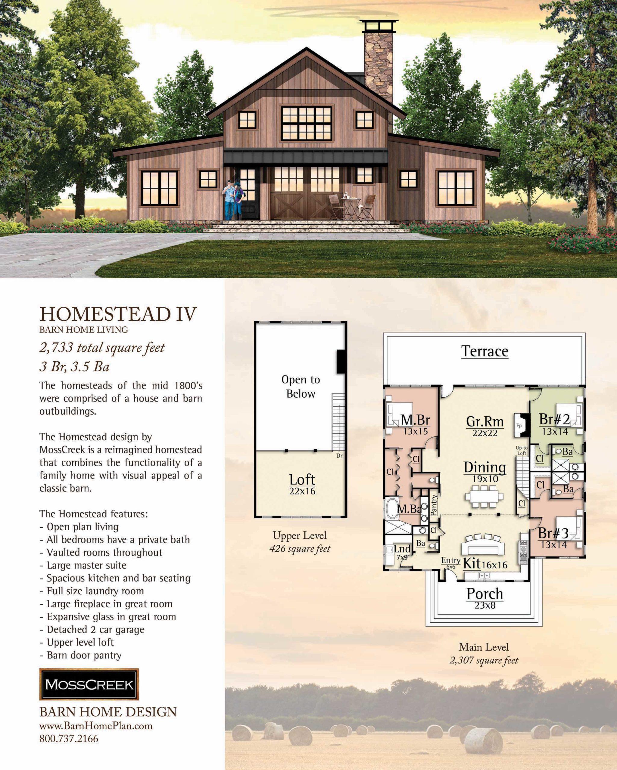 Mosscreek Homestead IV Floorplan