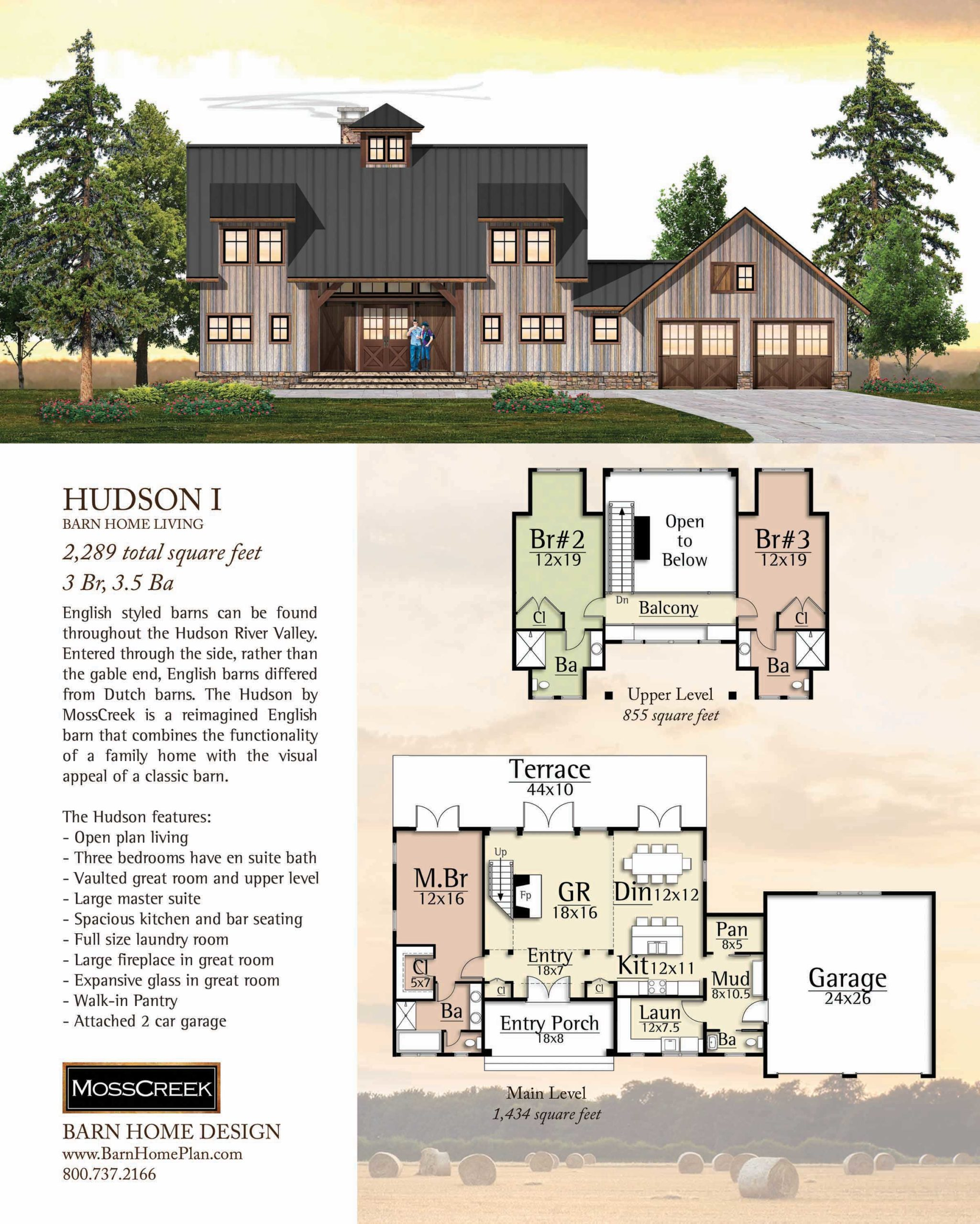 Mosscreek Hudson I Floorplan