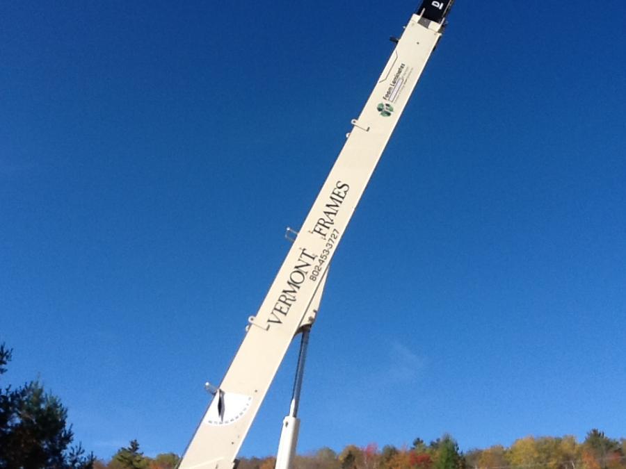 Vermont Frames crane